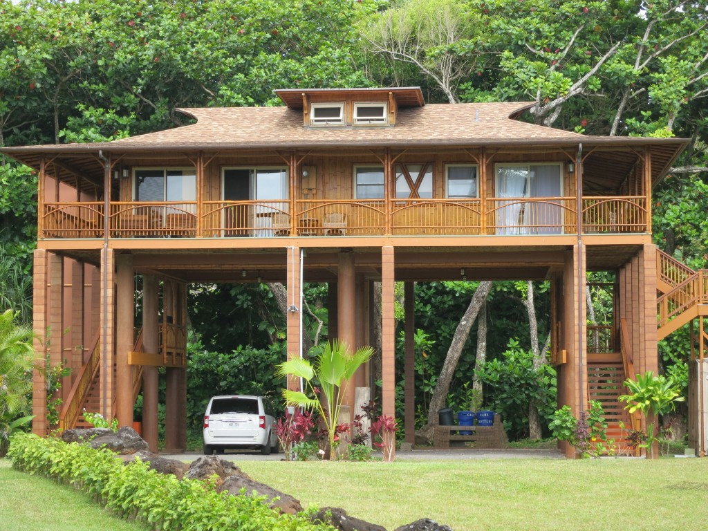 Chapter 21 kauai hanalei the end of the road kmb for How much to build a house in hawaii
