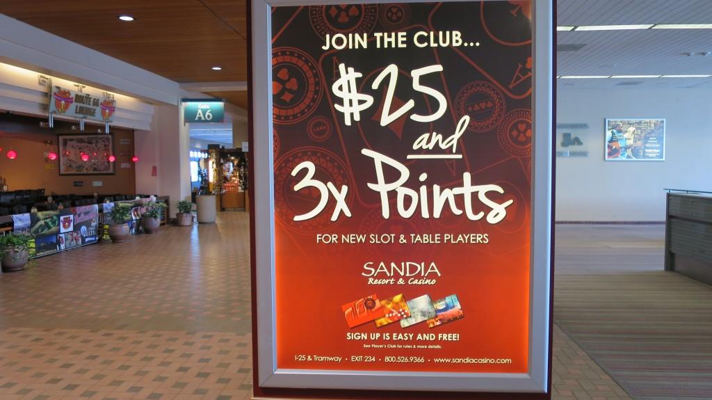 Sandia casino players club