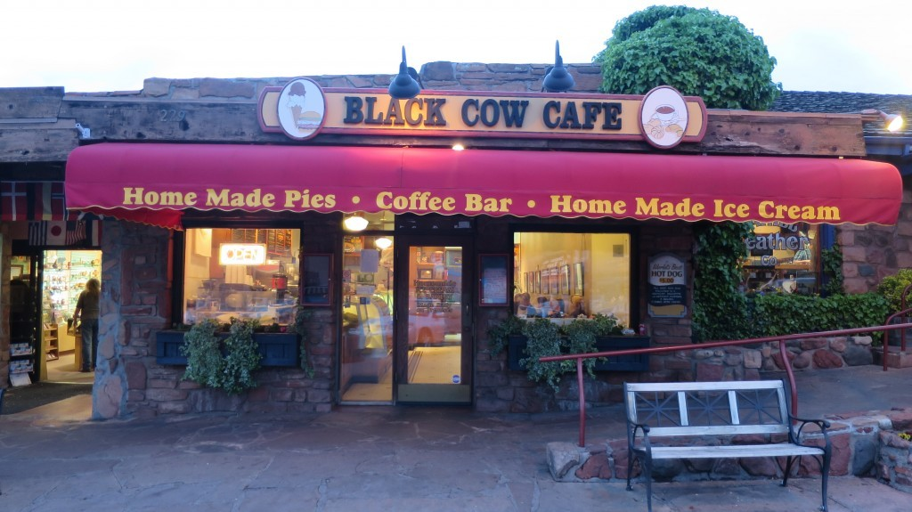 Black cow cafe sedona