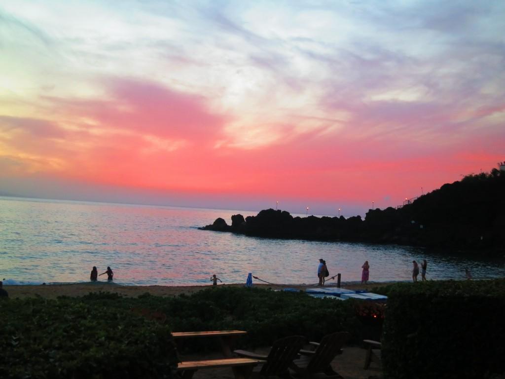 2015 Hawaii S100 1165 | Black Rock at sunset