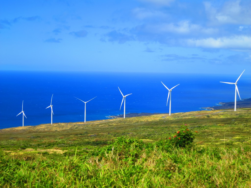 2015 Hawaii S100 1360 | Yes, a wind farm