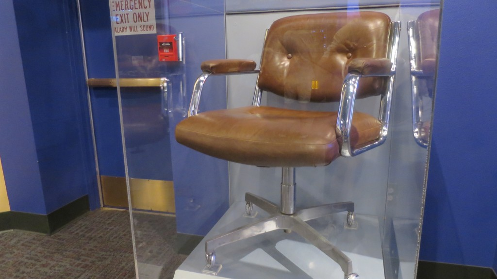 2015 New Mexico S120 1374 | Bill Gates's chair in the museum!