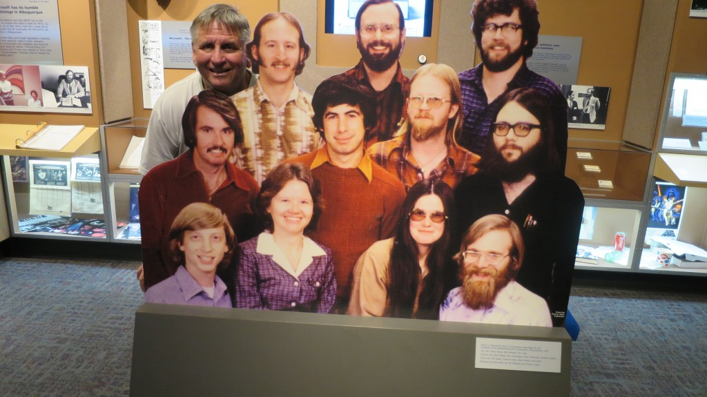 2015 New Mexico S120 1378 | Bill Gates original team in Albuquerque.