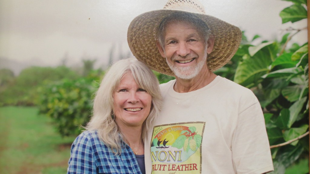 2015 Hawaii S100 2751 | Steve Frailey and his wife who own the Noni farm on Kauai.