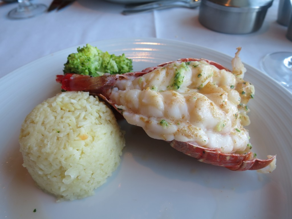 2018 EUROPE 1103 | Good lobster.  In Italy, lobster was $120